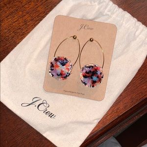J. Crew Pom-Pom Earrings